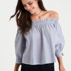 American Eagle Off-The-Shoulder Blouse
